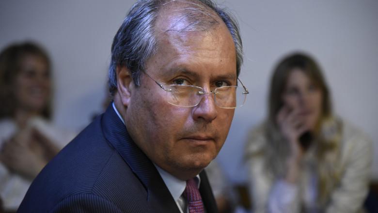 Argentine National Deputy Shot Near Congress