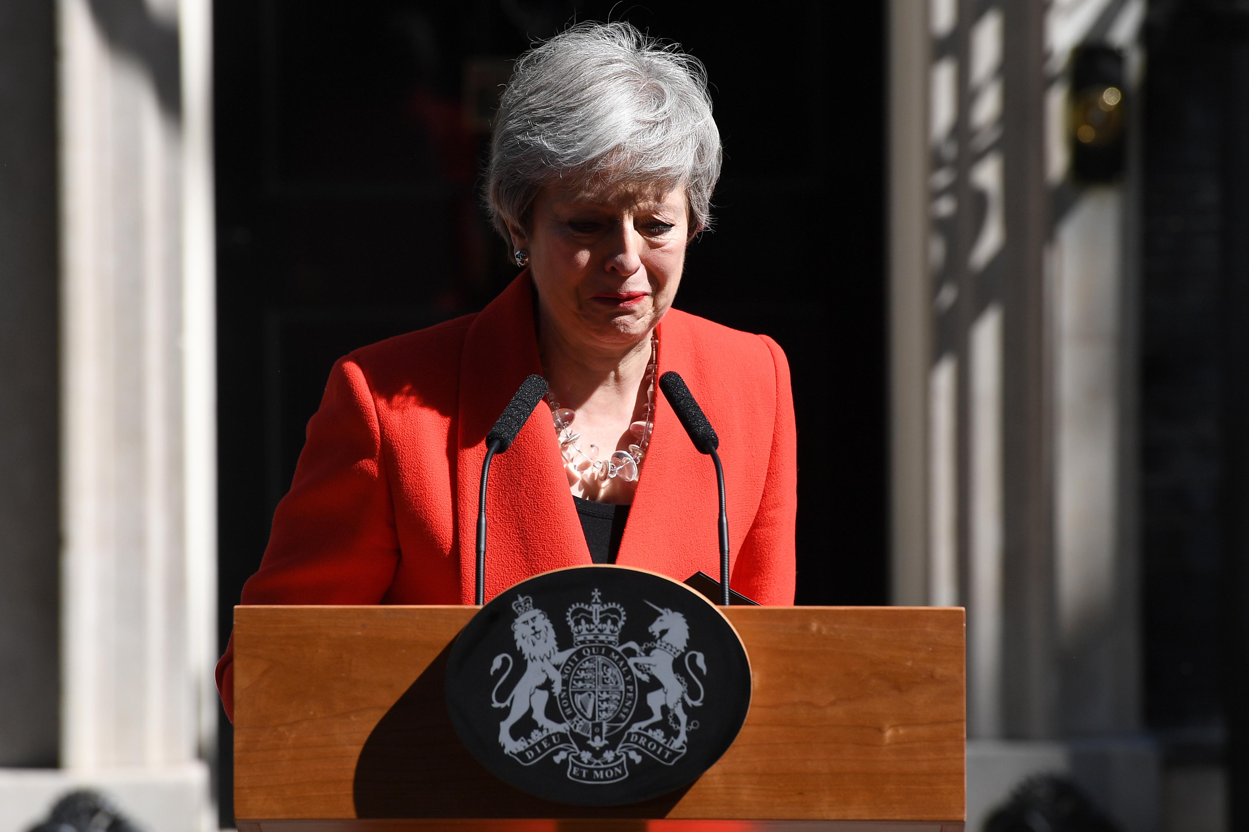 """Theresa May va demisiona. Ea a anuntat, cu lacrimi in ochi: """"Am facut tot ce am putut"""""""