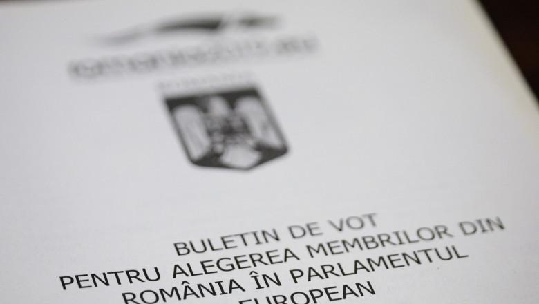 buletin vot alegeri PE - inquam