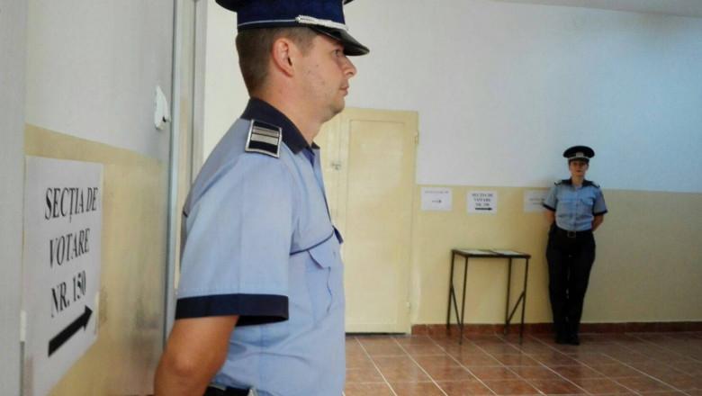 politie alegeri vot sectie FB