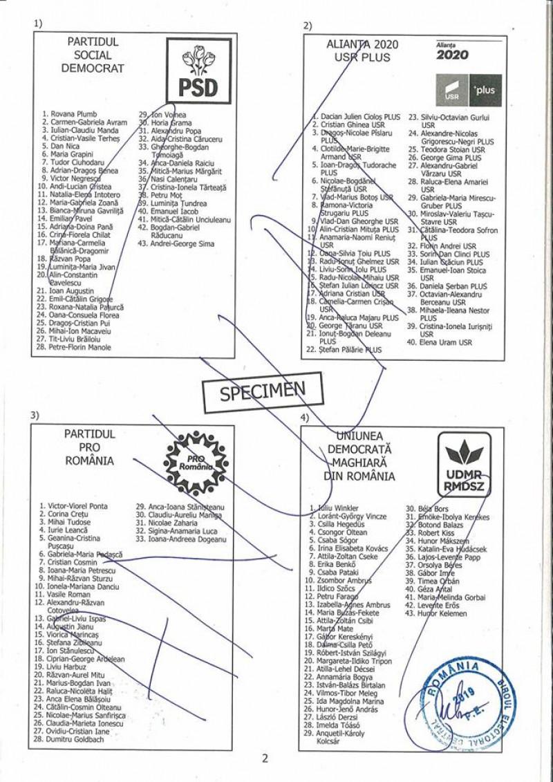 model buletin alegeri europarlamentare - pagina 3