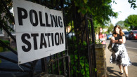 British Voters Go To The Polls In The European Elections