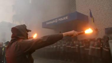 proteste ucraina politie