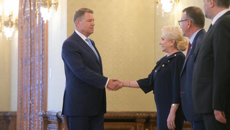 iohannis-dancila-consultari-presidency