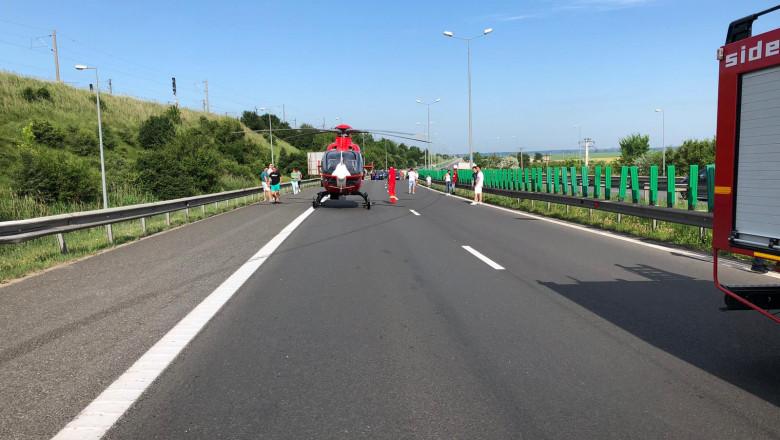 Accident A2 podul Cernavoda 020619 (1)