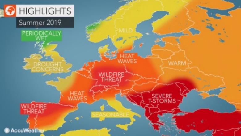 Vreme Neobișnuită In Europa Pentru Vara 2019 In Romania Vor Fi