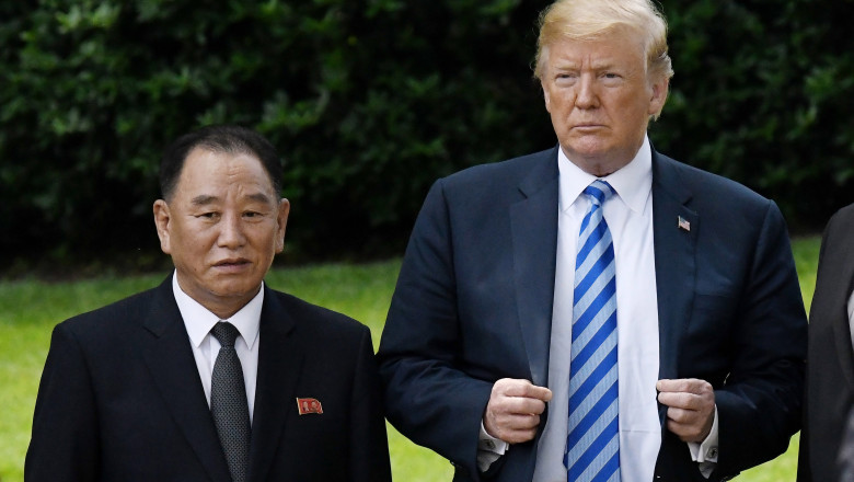 North Korean Central Committee Vice Chairman Kim Yong Chol Delivers Letter From Country's Leader To President Trump