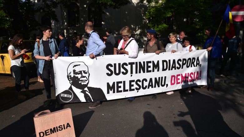 protest mae vot diaspora demisie melescanu agerpres_12535078