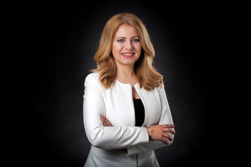 zuzana caputova - site-ul presedintiei slovace