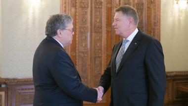 Klaus Iohannis, procurorul general al SUA