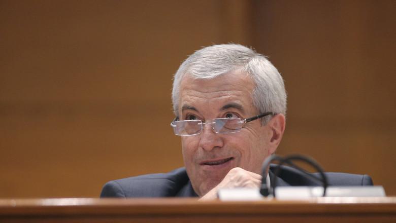 Călin Popescu Tăriceanu, președintele Senatului. Sursa INQUAM PHOTOS/GEORGE CĂLIN