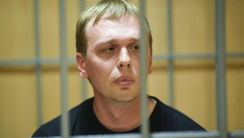 Ivan Golunov, jurnalist rus arestat