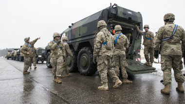 Bundeswehr Ships Military Equipment To Lithuania