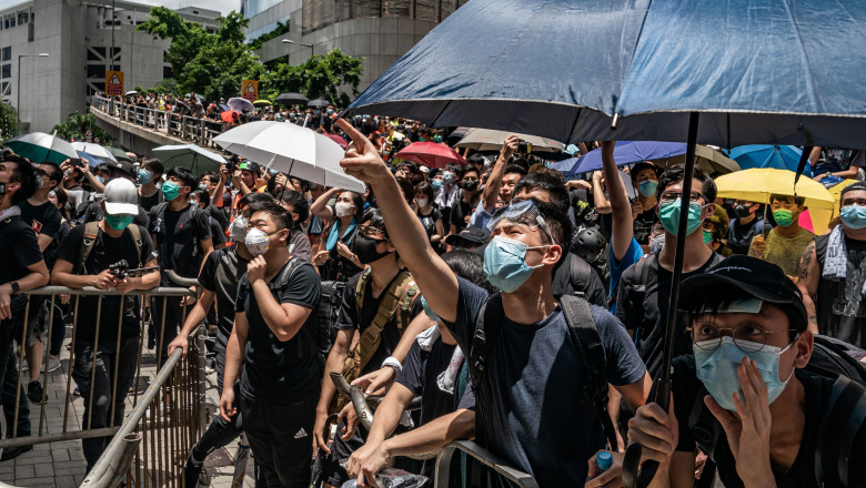 Hong Kongers Protest Over China Extradition Bill