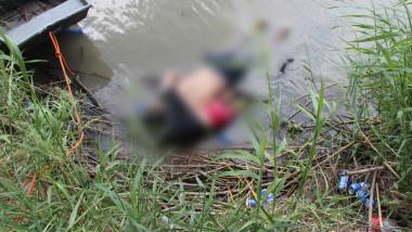migrant si fiica lui inecati la granita mexic-sua