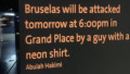 amenintare bruxelles