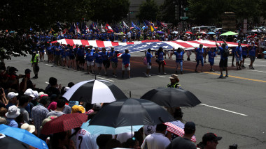 Independence Day Parade Kicks Off Washington's Fourth Of July Celebrations