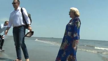 fifor dancila pe plaja