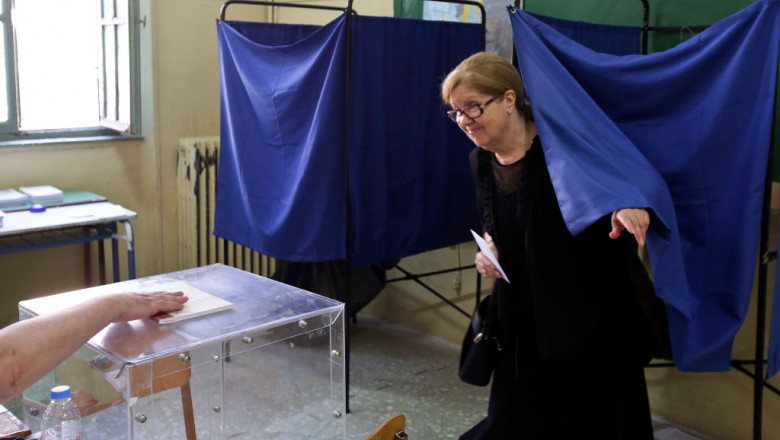 Greeks Vote In Their 2019 General Election