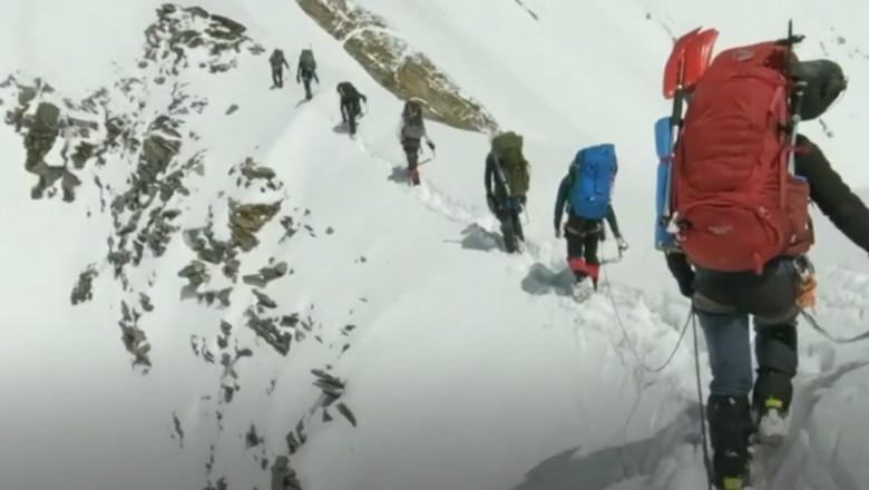 alpiniști Himalaya