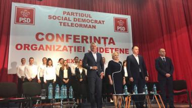 Dancila si ministrii la Conferinta Județeana Teleorman