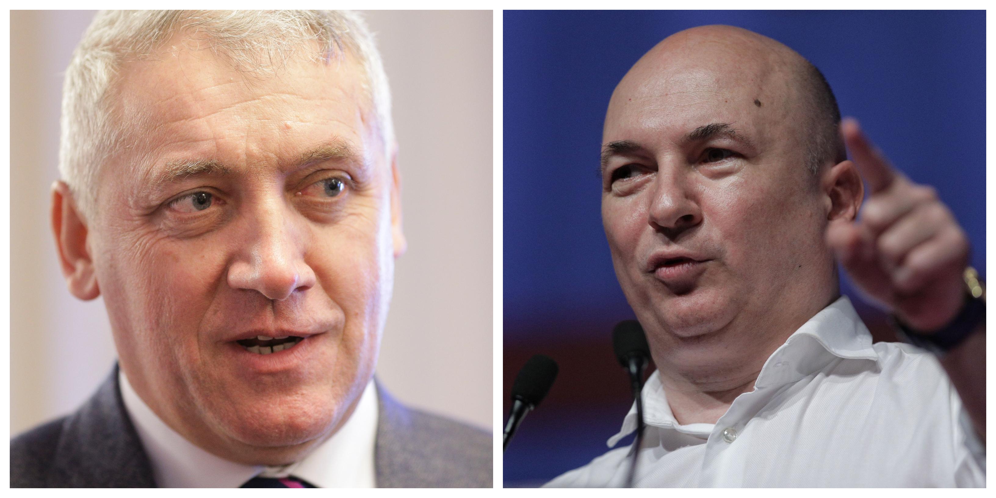 Scandal intre Codrin Ştefanescu şi Adrian Ţuţuianu: Un lugubru care se gudura pe langa dictator