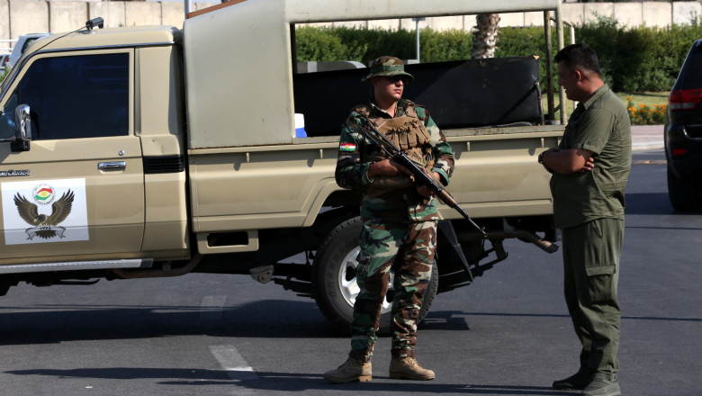 Shooting in Erbil involving consulate employees