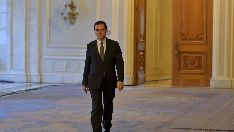 ludovic orban parlament agerpres_12014318