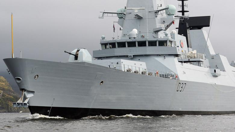 distrugator britanic HMS Duncan 2