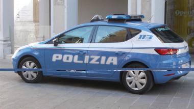 masina politie italiana - lp