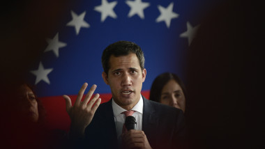 Juan Guaido Calls A Press Conference With International Media