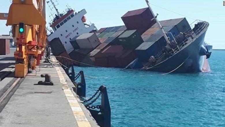 cargobot iranian - cnn