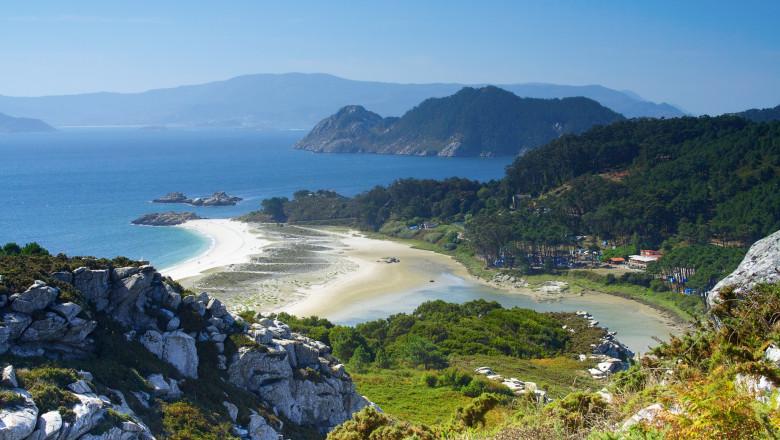 cies islands, Ria of Vigo, Galicia, Spain