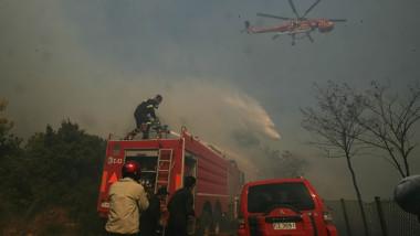incendii in zona rurala din prejma atenei
