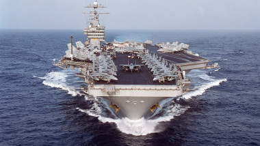USS Dwight D. Eisenhower In The Arabian Gulf