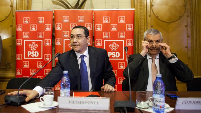 VICTOR PONTA - PSD - SEDINTA BIROU EXECUTIV