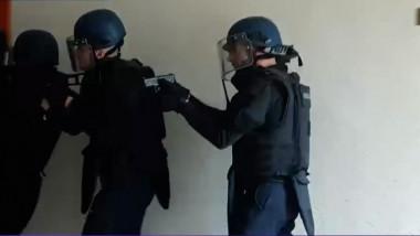 francez interventie politie