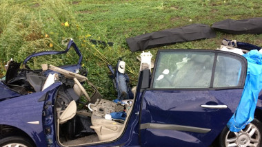 Accident DN13, Rupea. ISU BV 2