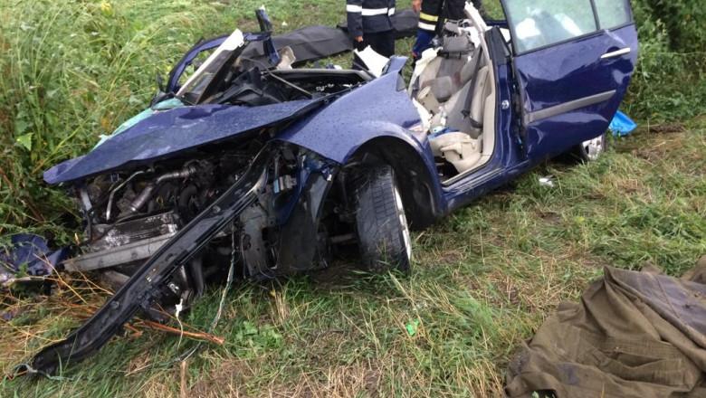 Accident DN13, Rupea. ISU BV 5