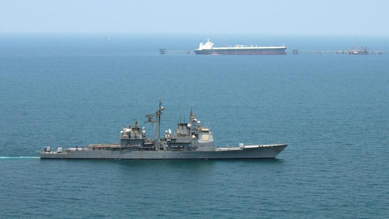 nava militara petrolier stramtoare hormuz golful persic getty