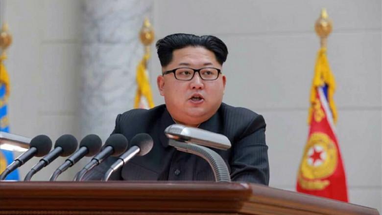 Kim Jong-Un, lider Coreea de Nord