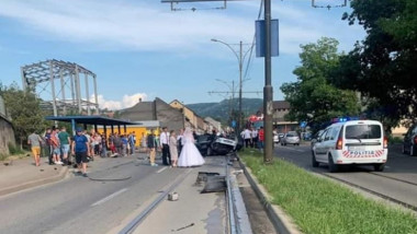 accident-ziua-nuntii-resita