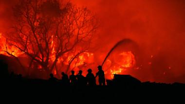 BANGLADESH-DHAKA-SLUM-FIRE