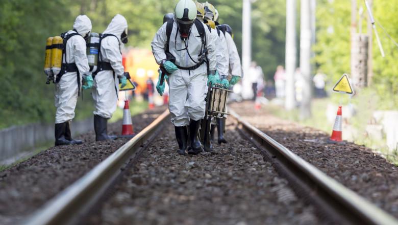 echipament protectie atac chimic