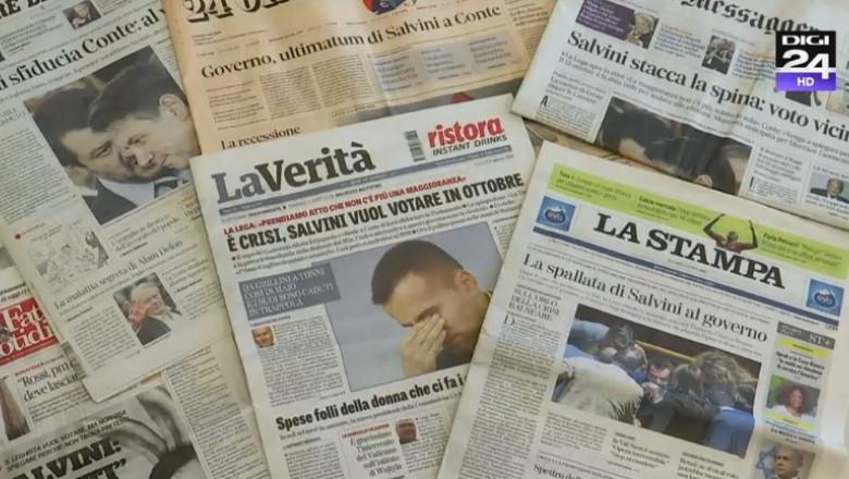 ziare criza italia