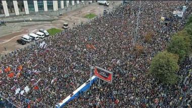 proteste moscova - twitter Olga Lautman