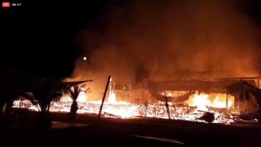 BAMBOOO incendiu - telespectator