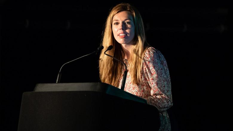 Carrie Symonds Addresses Birdfair Question Time