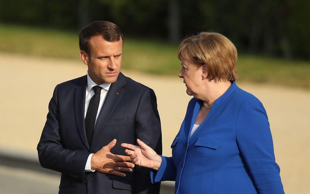 """Merkel îl contrazice pe Macron în privința NATO: A folosit """"cuvinte drastice"""""""