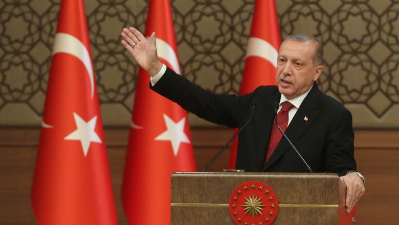 President Erdogan Sworn In As Turkey's First Executive President